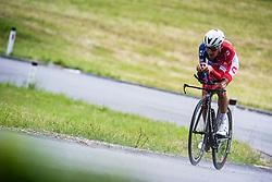 Jani Brajkovic during Slovenian Road Cycling Championship in time trial 2020 on June 28, 2020 in Zg. Gorje - Pokljuka, Slovenia. Photo by Peter Podobnik / Sportida.