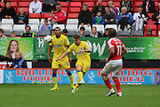 AFC Wimbledon midfielder Jake Reeves (8) during the EFL Sky Bet League 1 match between Charlton Athletic and AFC Wimbledon at The Valley, London, England on 17 September 2016. Photo by Stuart Butcher.