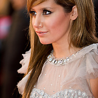 London Oct 7th  Ashley Tisdale  attend the UK premiere of 'High School Musical 3' at the Empire cinema, Leicester Square on October 7, 2008 in London, England.