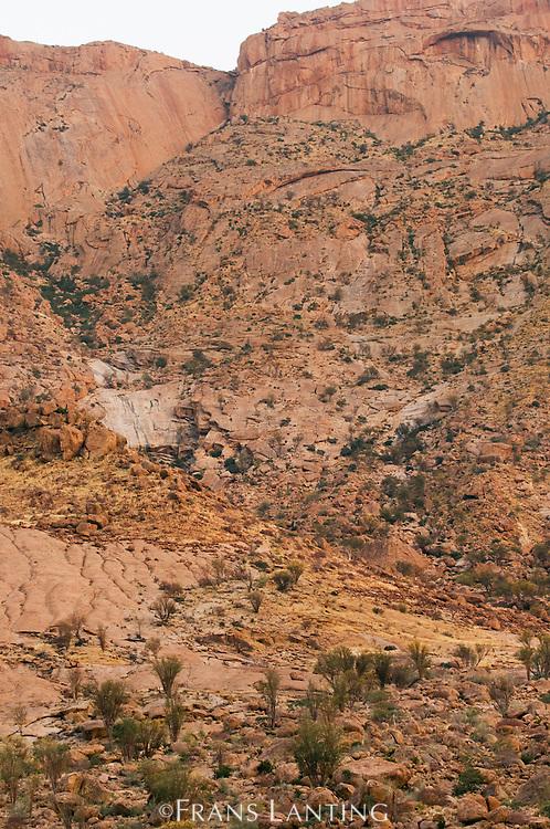 Rock formations, Brandberg, Tsiseb Conservancy, Damaraland, Namibia