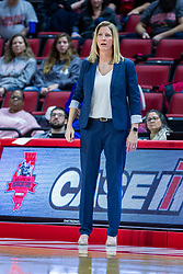 NORMAL, IL - November 30: Kristen Gillespie during a college women's basketball game between the ISU Redbirds and the Skyhawks of UT-Martin November 30 2019 at Redbird Arena in Normal, IL. (Photo by Alan Look)