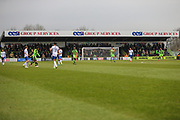 Eesi stand during the EFL Sky Bet League 2 match between Forest Green Rovers and Mansfield Town at the New Lawn, Forest Green, United Kingdom on 24 March 2018. Picture by Shane Healey.