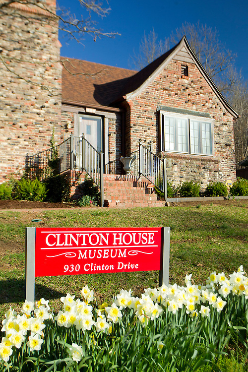 Clinton House in Fayetteville Arkansas where Former President Bill Clinton and Hillary Clinton lived while attending the University of Arkansas