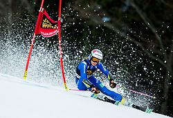 "Marta Bassino (ITA) competes during 1st Run of the FIS Alpine Ski World Cup 2017/18 5th Ladies' Giant Slalom race named ""Golden Fox 2018"", on January 6, 2018 in Podkoren, Kranjska Gora, Slovenia. Photo by Ziga Zupan / Sportida"