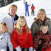 Fotosessie met de koninklijke familie in Lech /// Photoshoot with the Dutch royal family in Lech ...Op de foto / On the photo: Prinses Maxima, Prins Willem Alexander, Prinses Amalia, Prinses Alexia en Prinses Ariane /////  Princess Maxima, Crown Prince Willem Alexander, Princess Amalia, Princess Alexia and Princess Ariane