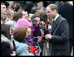 The Duke of Cambridge on a walkabout in Market Square , Cambridge, Wednesday , 28th November 2012. .Photo by: Stephen Lock / i-Images