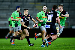 Harvey Skinner of Exeter Chiefs - Mandatory by-line: Ryan Hiscott/JMP - 25/11/2019 - RUGBY - Sandy Park - Exeter, England - Exeter Braves v Harlequins - Premiership Rugby Shield