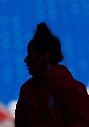 CARDIFF, WALES - Thursday, November 23, 2017: Wales' Angharad James during a training session ahead of the FIFA Women's World Cup 2019 Qualifying Round Group 1 match between Wales and Kazakhstan at the Cardiff City Stadium. (Pic by David Rawcliffe/Propaganda)