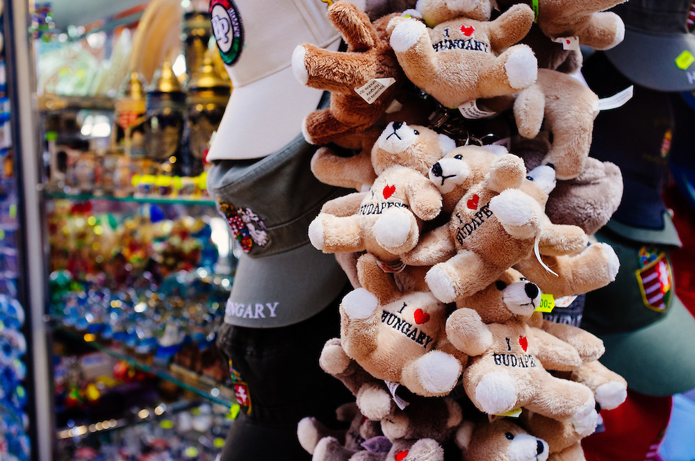 Teddys for sale in the Great Market Hall