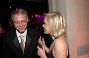 Stephen Daldry and Mariella Frostrop, Fundraising party with airline theme in aid of the Old Vic and to celebrate the appointment of Kevin Spacey as artistic director.  <br />