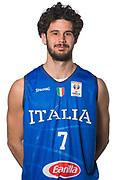 Luca Vitali<br /> Nazionale Italiana Maschile Senior - Headshot<br /> FIP 2017<br /> Torino, 20/11/2017<br /> Foto M.Ceretti / Ciamillo-Castoria