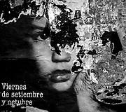 20170215/ Javier Calvelo/ URUGUAY/ MONTEVIDEO/ Un pentimento es una alteraci&oacute;n en un cuadro que manifiesta el cambio de idea del artista sobre aquello que estaba pintando. Se tratar&iacute;a de un t&eacute;rmino sin&oacute;nimo de arrepentimiento. Este trabajo documental hecho en las calles de las ciudades se basa en esa idea pero este arrepentimiento estaria dado por epaso del tiempo y la construccion de ese muro de afiches y pintadas que nunca acaba las diferentes capas se acumulan y van cambiando momento a momento. A partir de una foto de Diana Mines en un afiche de teatro.<br /> En la foto:  Proyecto Pentimento. Foto: Javier Calvelo