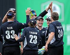 Dunedin-Cricket, New Zealand v Zimbabwe, 1st one day