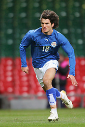 CARDIFF, WALES - WEDNESDAY, MARCH 1st, 2006: Paraguay's Nelson Haedo Valdez during the International Friendly match against Wales at the Millennium Stadium. (Pic by Dan Istitene/Propaganda)