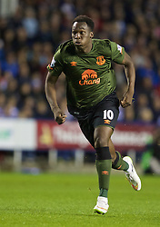 READING, ENGLAND - Tuesday, September 22, 2015: Everton's Romelu Lukaku in action against Reading during the Football League Cup 3rd Round match at the Madejski Stadium. (Pic by David Rawcliffe/Propaganda)