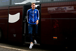 Joe Partington of Bristol Rovers arrives at Barnsley - Mandatory by-line: Robbie Stephenson/JMP - 27/10/2018 - FOOTBALL - Oakwell Stadium - Barnsley, England - Barnsley v Bristol Rovers - Sky Bet League One