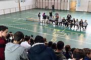 team <br /> Nazionale Femminile Senior in visita al Liceo Scientifico Sportivo E. Fermi di Lucca.<br /> FIP 2016<br /> Lucca, 18/11/2016<br /> Foto Ciamillo - Castoria