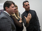 FIRST MINISTER; FABIAN PICARDO; JUSTINE PICARDO,; KARL ULLGER, Gibraltar as seen by five artists. private view hosted by the Chief Minister of Gibraltar. Art Bermondsey project Space. 24 October 2017