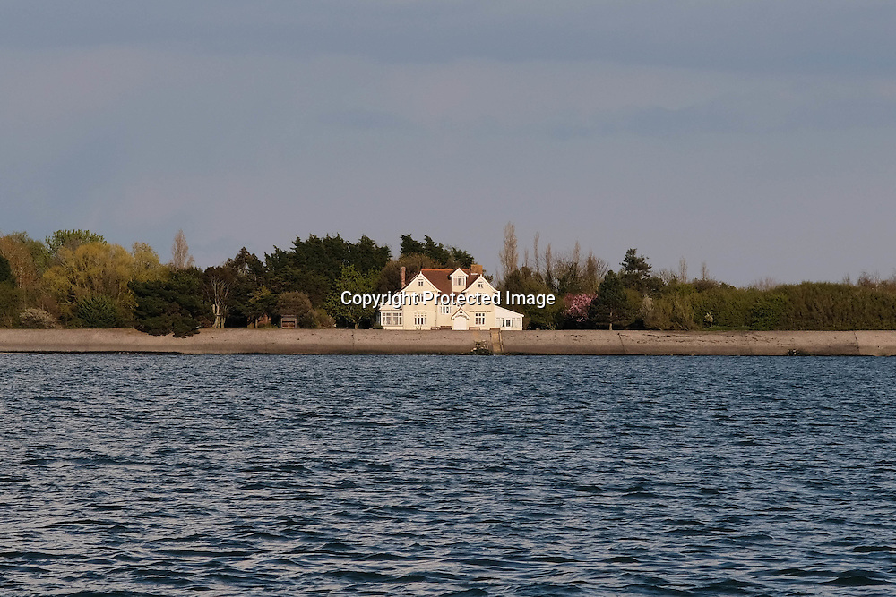 The family home of Hilary Benn, Tony Benn is situated on the River Blackwater in Essex