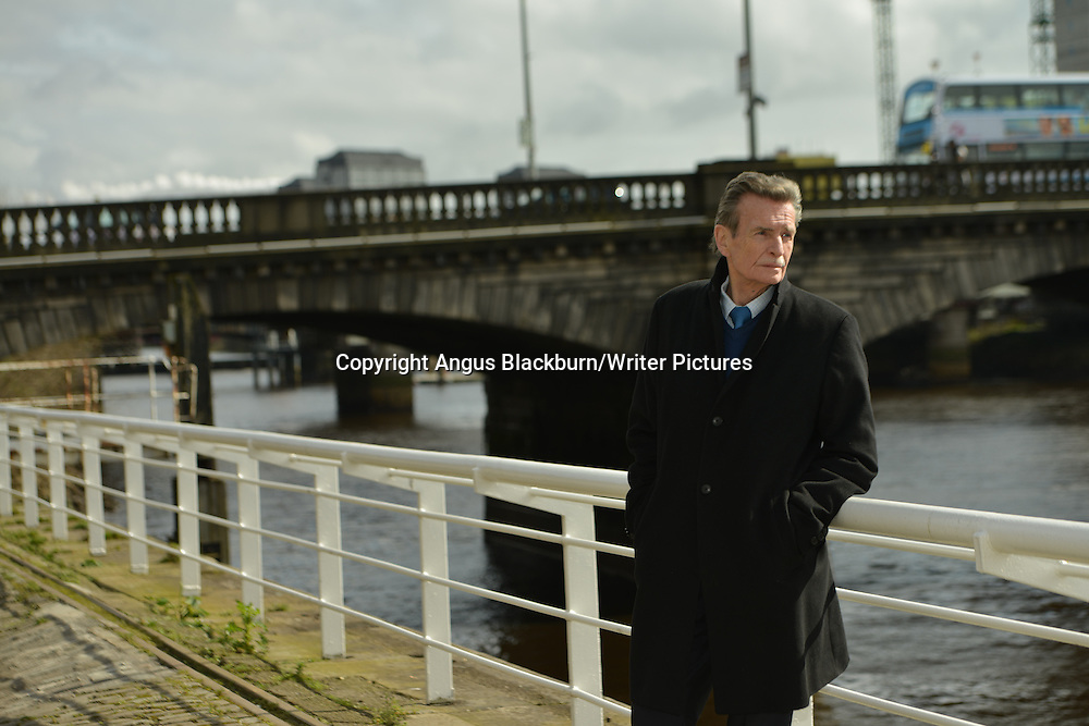 William McIlvanney in Glasgow<br /> 10th April 2014<br /> <br /> Photograph by Angus Blackburn/Writer Pictures<br /> <br /> WORLD RIGHTS