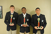 Three 10th-graders from Young Men's College Preparatory Academy won first place in a regional water rocket competition hosted by Science, Engineering, Communication, and Math Enhancement (SECME). The competition requires students to design and build a rocket that can be launched with water and compressed air.<br /> To submit photos for inclusion in eNews, send them to hisdphotos@yahoo.com.