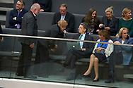 Joachim Sauer bei der Wahl der Bundeskanzlerin im Bundestag in Berlin. / 14032018,DEU,Deutschland,Berlin