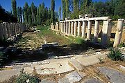 TURKEY, GREEK AND ROMAN Aphrodisias; Sebasteion with twin porticos