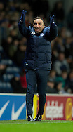 Sheffield Wednesday manager Carlos Carvalhal expresses his anger during the Sky Bet Championship match at Ewood Park, Blackburn<br /> Picture by Russell Hart/Focus Images Ltd 07791 688 420<br /> 28/11/2015