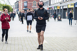 © Licensed to London News Pictures. 07/09/2020. Bolton, UK. Quiet day in Bolton as cases rise today across the UK. Bolton has the highest infection rate in the UK and residents have been told not to use public transport unless it is essential. Photo credit: Kerry Elsworth/LNP
