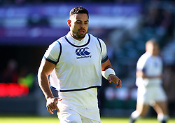Ben Te'o of England during an open training session at Twickenham - Mandatory by-line: Robbie Stephenson/JMP - 16/02/2018 - RUGBY - Twickenham Stadium - London, England - England Rugby Open Training Session