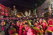 Nederland, Breda, 20161219.<br /> Glazen House Party Serious Request op de Grote Markt in Breda