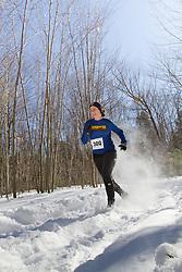 Trail Monster Running:  snowshoe race