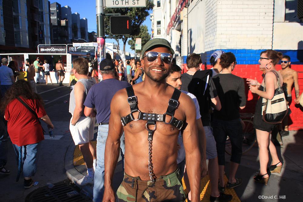 Folsom Street Fair - San Francisco Sunday September 26, 2010. Annual Leather Street Fair,