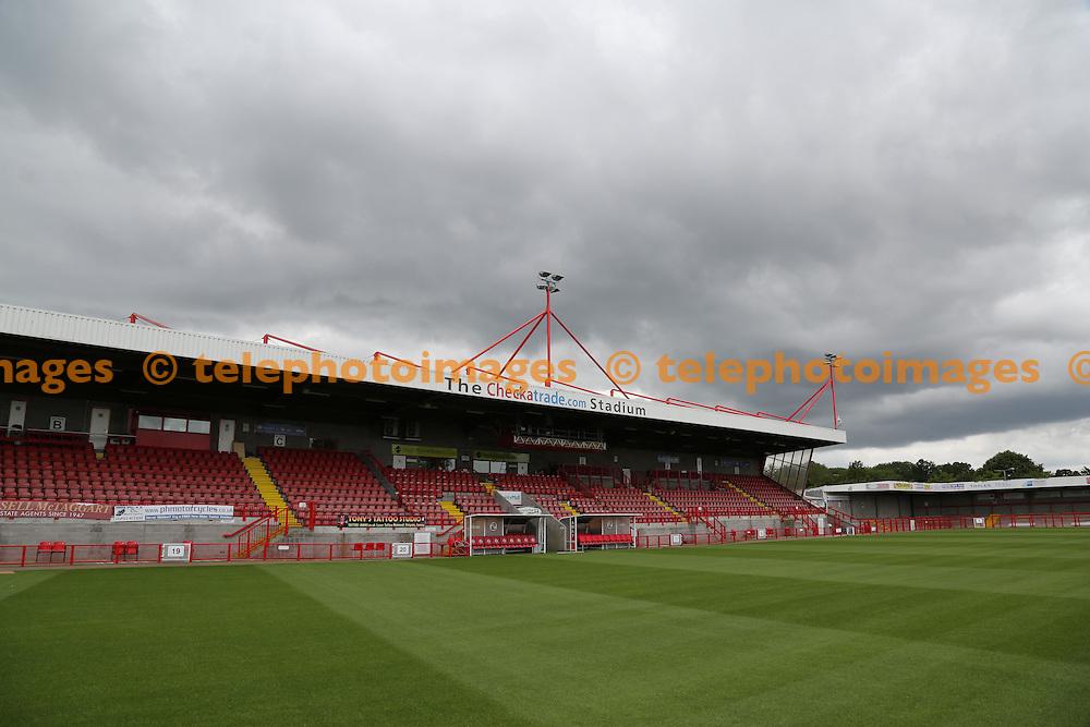 Crawley Town Football Clubs ground The Checkatrade.com Stadium.<br /> James Boardman / TELEPHOTO IMAGES 07967642437