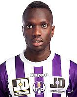 Amadou Soukouna - 02.10.2013 - Photo officielle Toulouse - Ligue 1<br /> Photo : Icon Sport