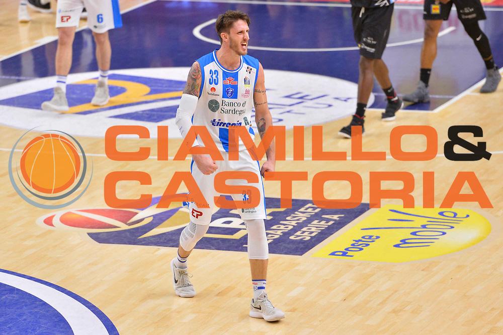 SASSARI 07 GENNAIO 2018<br /> Banco di Sardegna Dinamo Sassari - Dolomiti Energia Aquila Trento<br /> Legabasket Serie A LBA PosteMobile 2017/2018<br /> NELLA FOTO Achille Polonara<br /> FOTO CIAMILLO - Luigi Canu