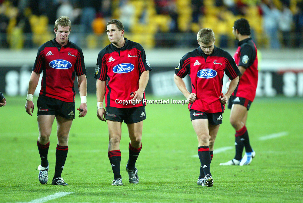 07 May 2004, Rugby Union. Super 12, Westpac Stadium, Wellington, New Zealand. Hurricanes vs Crusaders<br />