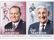 David Campese and Joe Marston AusPost Stamps