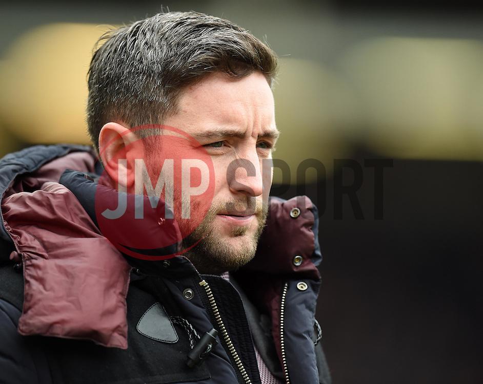 Lee Johnson head coach of Bristol City - Mandatory by-line: Paul Knight/JMP - Mobile: 07966 386802 - 19/03/2016 -  FOOTBALL - Ashton Gate Stadium - Bristol, England -  Bristol City v Bolton Wanderers - Sky Bet Championship