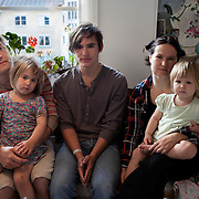 Södra Station co-housing in Stockholm,  Sweden August 29, 2012. <br />
