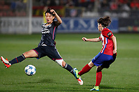 Olympique Lyonnais´s Kumagai during UEFA Women´s Champions League soccer match between Atletico de Madrid and Olympique Lyonnais, in Madrid, Spain. November 11, 2015. (ALTERPHOTOS/Victor Blanco)