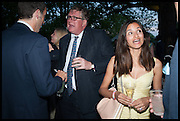 CRISPIN ODEY; FARZANA SPORTOLETTI BADUEL, Cartier dinner in celebration of the Chelsea Flower Show. The Palm Court at the Hurlingham Club, London. 19 May 2014.