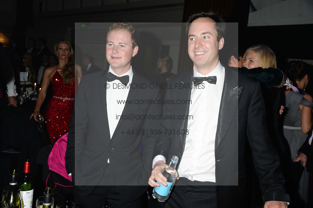 British fine jewellery brand Boodles welcomed guests for the 2013 Boodles Boxing Ball in aid of Starlight Children's Foundation held at the Grosvenor House Hotel, Park Lane, London on 21st September 2013.<br /> Picture Shows:-GUY PELLY and JAMIE MURRAY-WELLS.<br /> <br /> Press release - https://www.dropbox.com/s/a3pygc5img14bxk/BBB_2013_press_release.pdf<br /> <br /> For Quotes  on the event call James Amos on 07747 615 003 or email jamesamos@boodles.com. For all other press enquiries please contact luciaroberts@boodles.com (0788 038 3003)