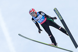 30.01.2016, Normal Hill Indiviual, Oberstdorf, GER, FIS Weltcup Ski Sprung Ladis, Bewerb, im Bild Eva Pinkelnig (AUT) // Eva Pinkelnig of Austria during his Competition Jump of Four Hills Tournament of FIS Ski Jumping World Cup Ladis at the Normal Hill Indiviual, Oberstdorf, Germany on 2016/01/30. EXPA Pictures © 2016, PhotoCredit: EXPA/ Peter Rinderer