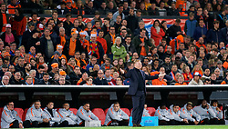 10-10-2019 NED: Netherlands - Northern Ireland, Rotterdam<br /> UEFA Qualifying round ­Group C match between Netherlands and Northern Ireland at De Kuip in Rotterdam / Coach Ronald Koeman of the Netherlands