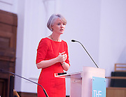 Sadia Khan addresses the first Knife Crime Summit <br /> London 2016 <br /> MOPAC <br /> at Friend's Meeting House, London, Great Britain <br /> 13th October 2016 <br /> <br /> <br /> Sophie Linden <br /> Deputy Mayor for Policing &amp; Crime <br /> <br /> <br /> <br /> Photograph by Elliott Franks <br /> Image licensed to Elliott Franks Photography Services