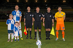 Mascots - Mandatory byline: Dougie Allward/JMP - 07966 386802 - 06/10/2015 - FOOTBALL - Memorial Stadium - Bristol, England - Bristol Rovers v Wycombe Wanderers - JPT Trophy