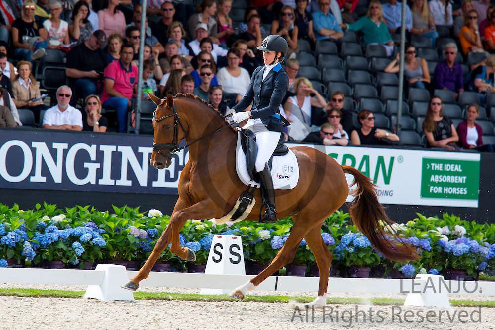 Kim van der Velden - Guadeloupe Beau<br /> Longines FEI/WBFSH World Breeding Dressage Championships for Young Horses 2016<br /> &copy; DigiShots