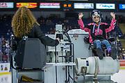 KELOWNA, CANADA - FEBRUARY 23:  Orchard Park Zamboni Rider at the Kelowna Rockets game on February 23, 2018 at Prospera Place in Kelowna, British Columbia, Canada.  (Photo By Cindy Rogers/Nyasa Photography,  *** Local Caption ***