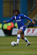 Gillingham midfielder Bradley Dack during the Sky Bet League 1 match between Gillingham and Shrewsbury Town at the MEMS Priestfield Stadium, Gillingham, England on 23 April 2016. Photo by Martin Cole.